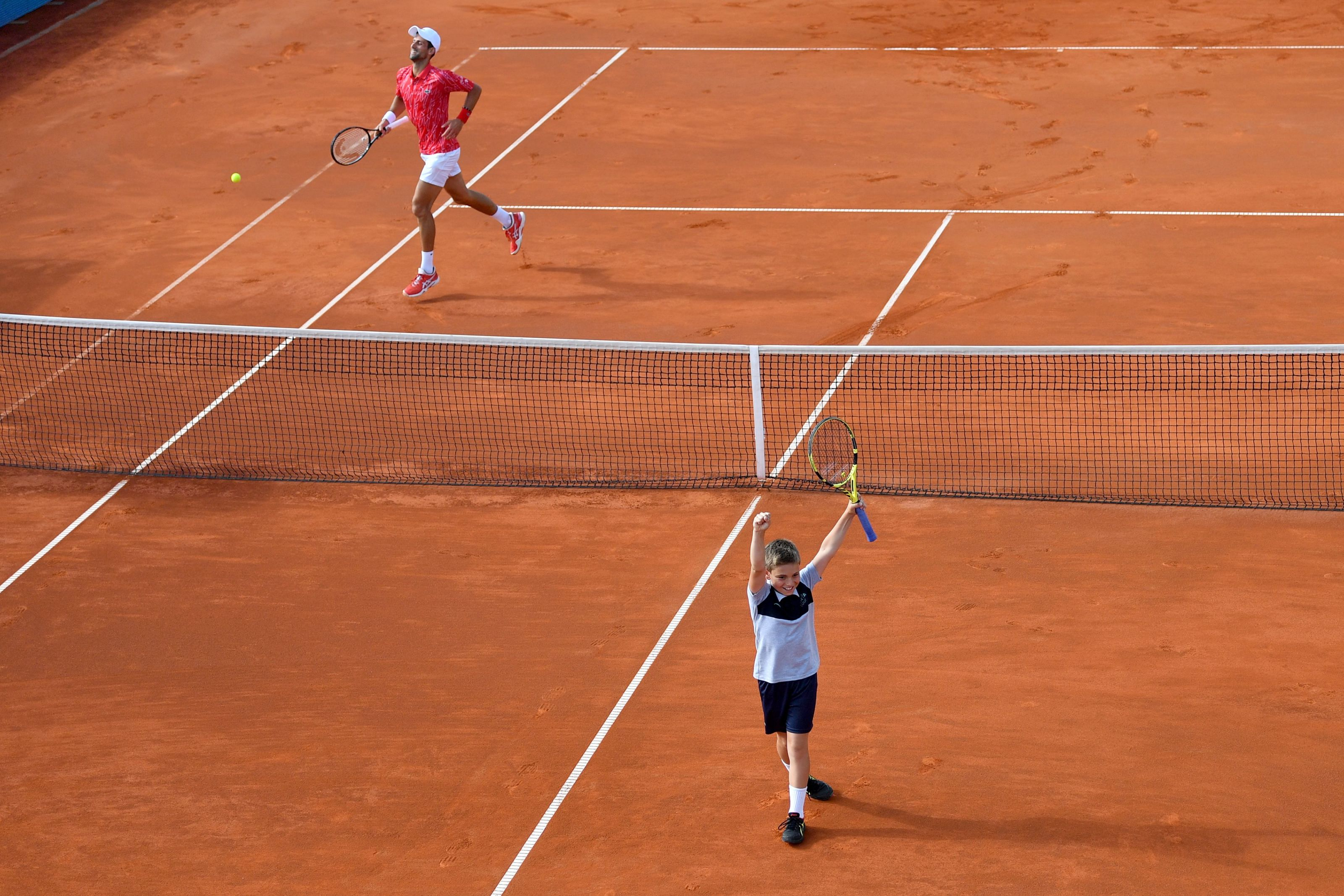 Tennis Is Finally Back Adria Tour Sees Djokovic Lose And A Ball Boy Win
